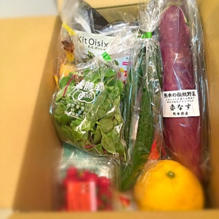 Oisix,オイシックス,有機野菜,有機野菜宅配,ビューティー料理