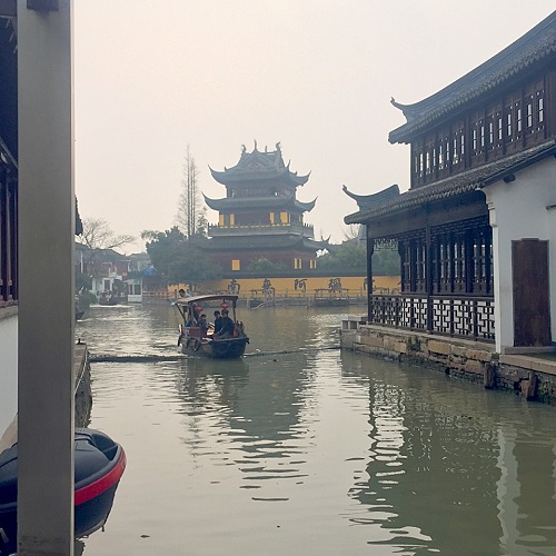 上海,上海のベニス,朱家角,上海のベニス朱家角