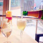 シャンパン,シャンパーニュ,ローランペリエブリュット,銀座スカイラウンジ,回転レストラン,回転するレストラン,回転レストラン銀座,回転レストラン東京,東京交通会館