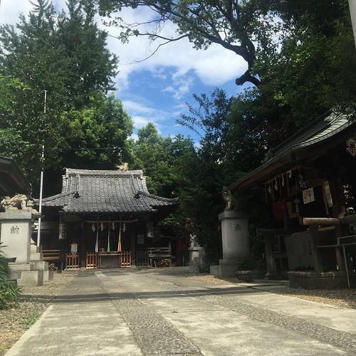 御嶽神社,池袋御嶽神社,お朔日参り,8月のお朔日参り