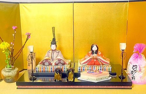 雛人形,お雛様,お内裏様,一段飾り,雛祭り,桃の節句