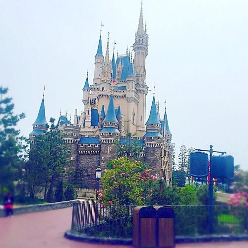 東京ディズニーランド,シンデレラ城,シンデレラ城画像,ディズニー閑散期,ディズニー攻略法