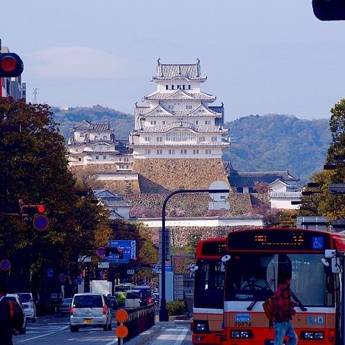 吉方取り,吉方位,姫路市,姫路城,白鷺城,白過ぎる城,白漆喰総塗籠造